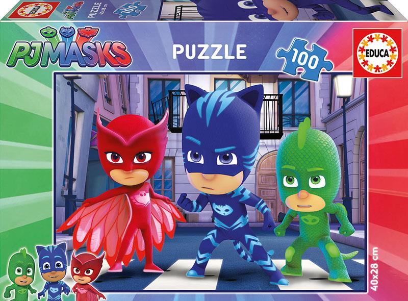 Puzzle Educa PJ Masks de 100 Piezas