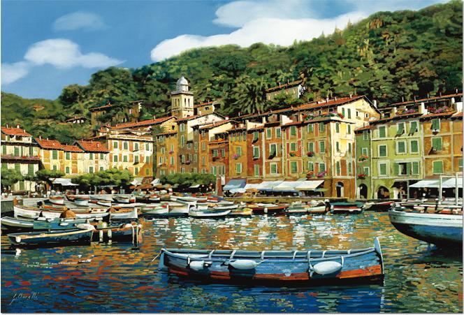 Puzzle Educa Portofino, Italia de 4000 Piezas