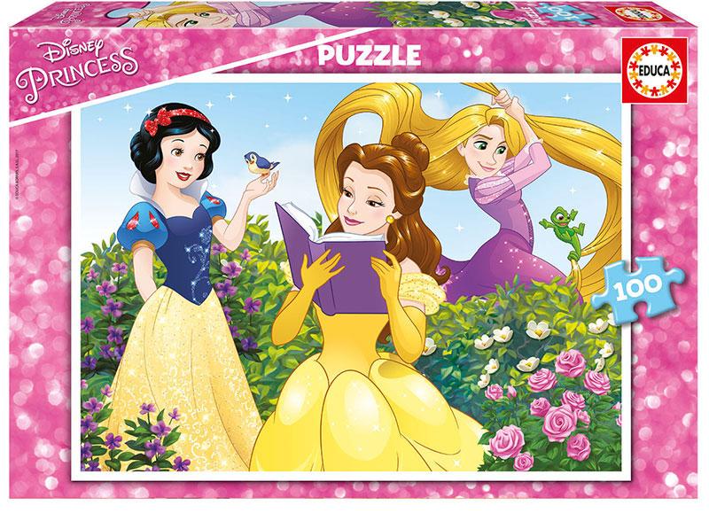 Puzzle Educa Pricesas Disney de 100 Piezas
