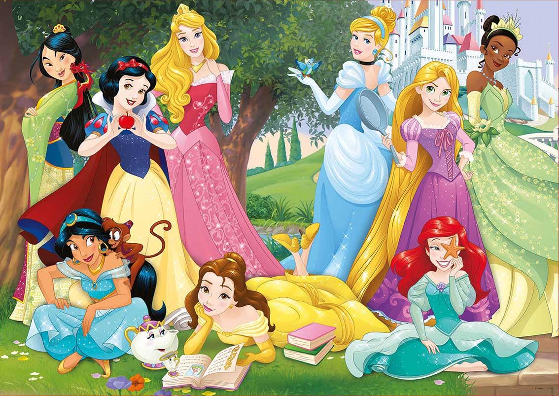 Comprar puzzle educa princesas disney de 500 piezas for Muebles de princesas disney
