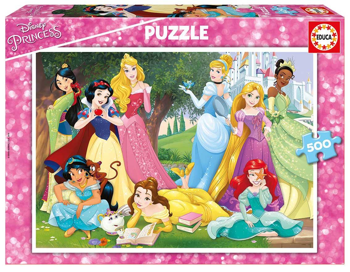 Comprar Puzzle Educa Princesas Disney De 500 Piezas