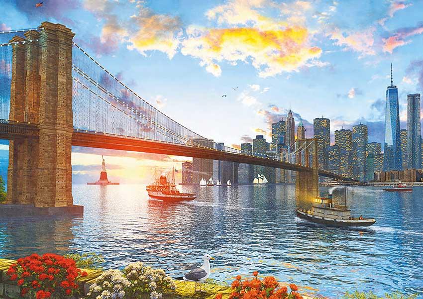 Puzzle Educa Puente de Brooklyn de 4000 Piezas