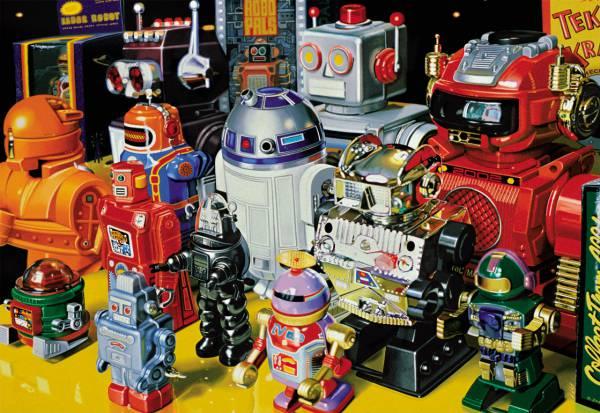 Puzzle Educa Robots en Formación de 1000 Piezas