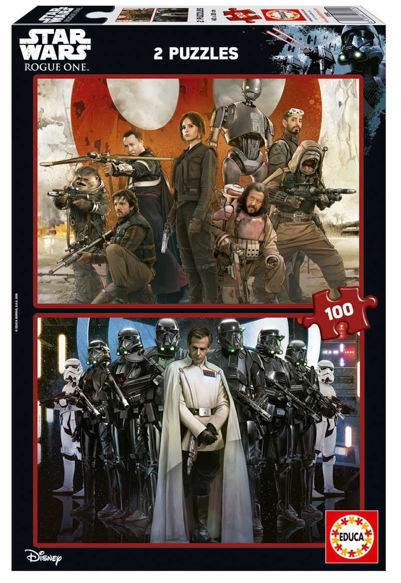 Puzzle Educa Rogue One Star Wars de 2 x 100 Piezas