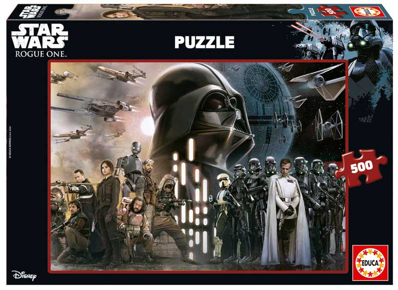 Puzzle Educa Rogue One Star Wars de 500 Piezas