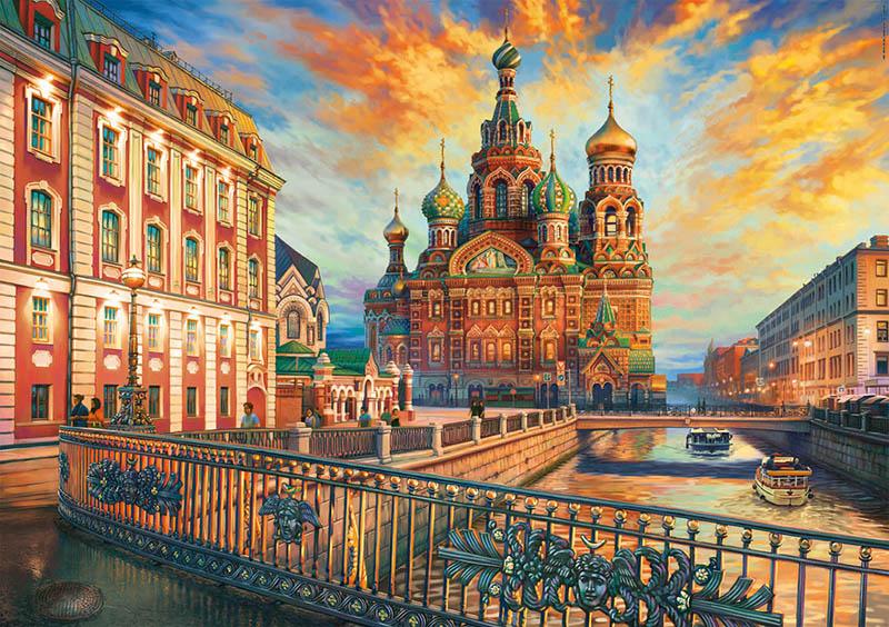 Puzzle Educa San Petersburgo de 1500 Piezas