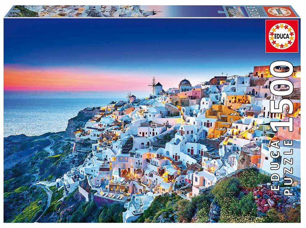 Puzzle Educa Santorini de 1500 Piezas