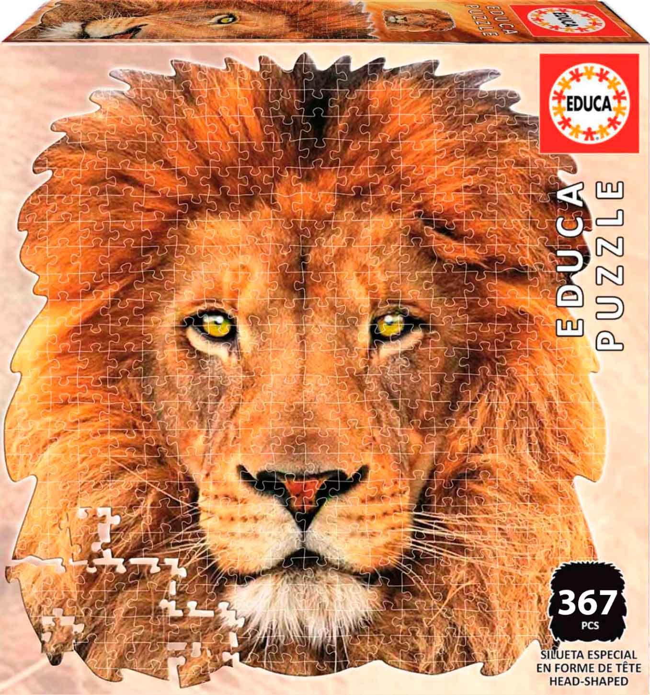 Puzzle Educa Silueta León de 367 Piezas