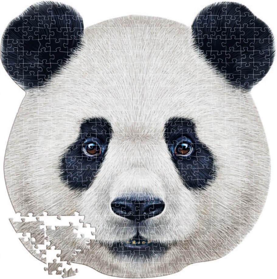 Puzzle Educa Silueta Oso Panda de 353 Piezas