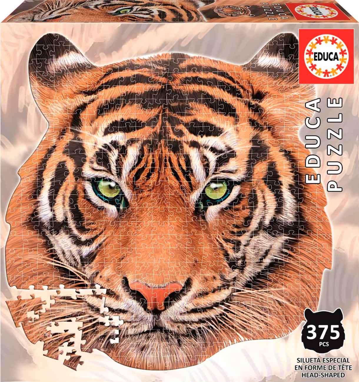 Puzzle Educa Silueta Tigre de 375 Piezas