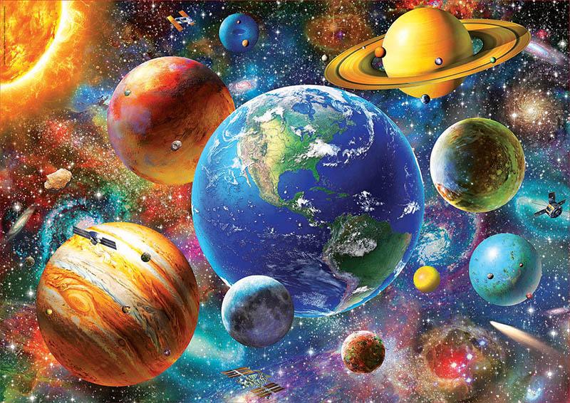Puzzle Educa Sistema Solar de 500 Piezas
