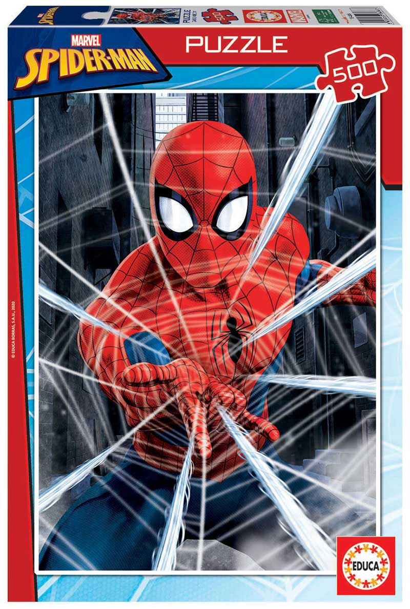 Puzzle Educa Spiderman de 500 Piezas