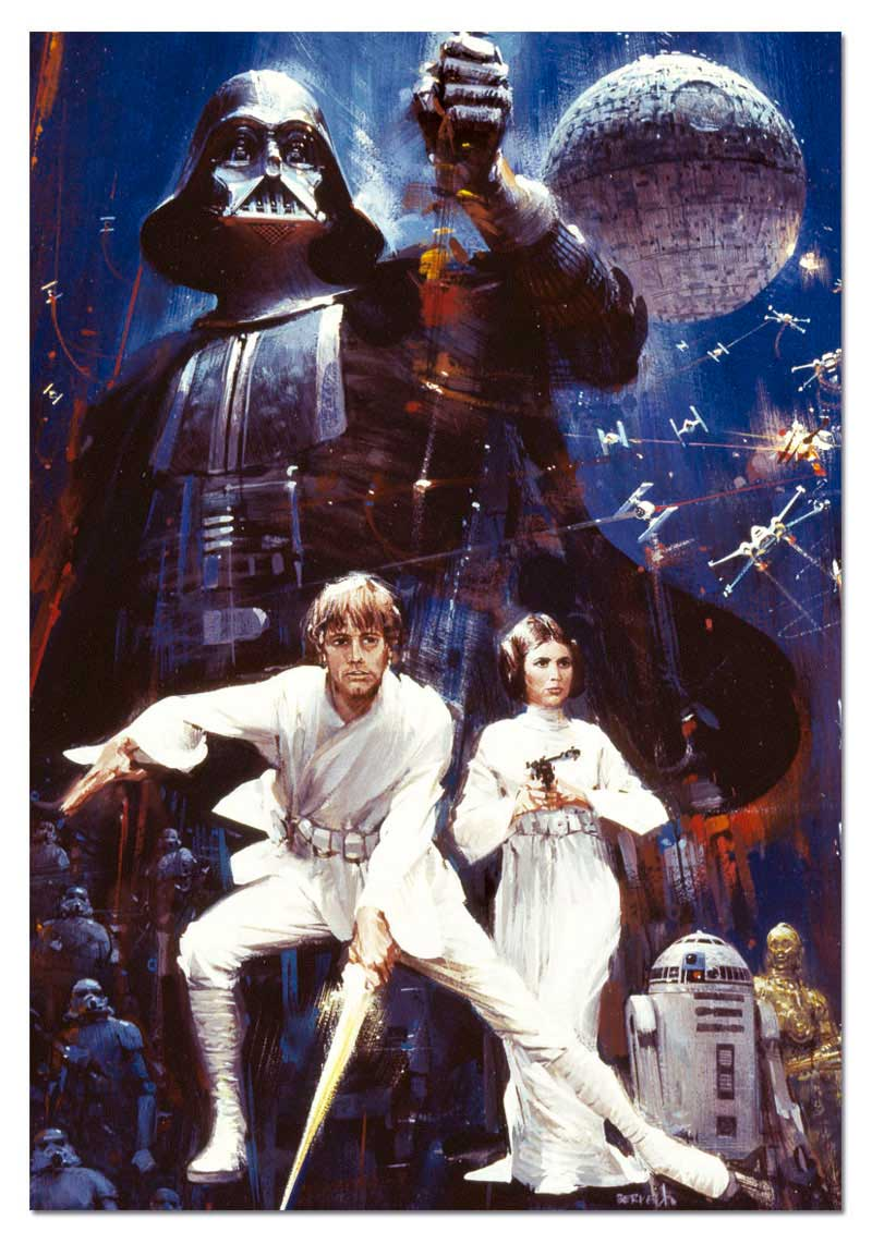 Puzzle Educa Star Wars EP. VII A New Hope de 500 Piezas