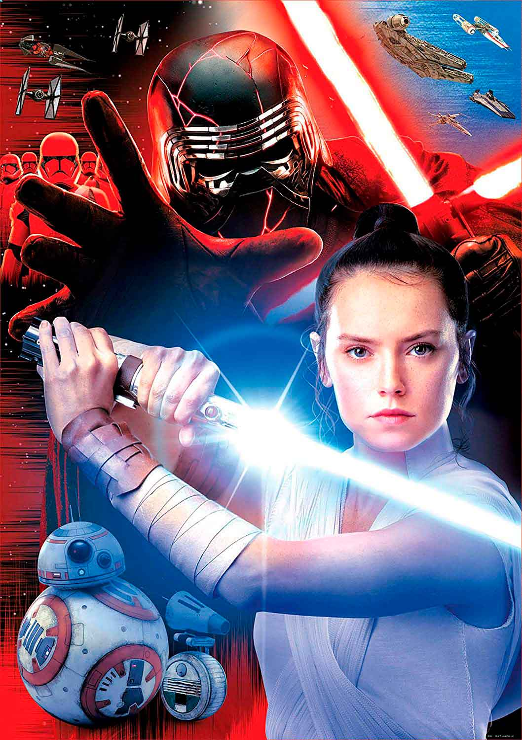 Puzzle Educa Star Wars Episodio 9 de 1000 Piezas