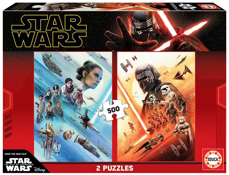 Puzzle Educa Star Wars Episodio 9 de 2 x 500 Piezas