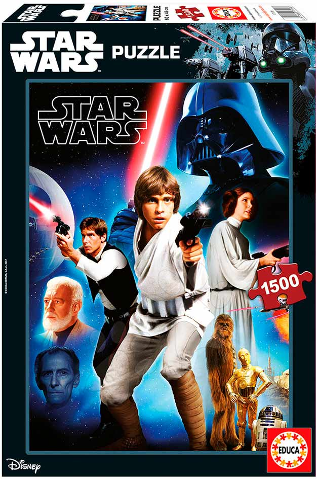 Puzzle Educa Star Wars Episodio IV de 1500 Piezas