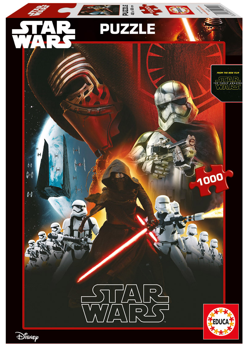 Puzzle Educa Star Wars Episodio VII 1000 Piezas