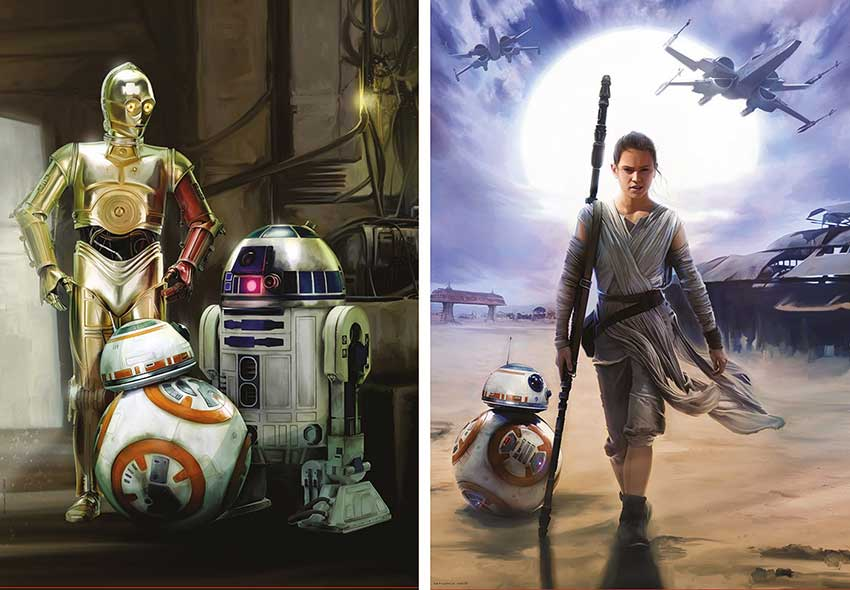 Puzzle Educa Star Wars Episodio VII 2 x 500 Piezas