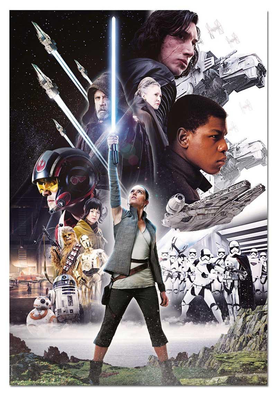 Puzzle Educa Star Wars Episodio VIII de 1000 Piezas