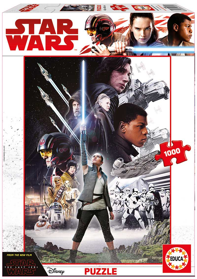 Puzzle Educa Star Wars Episodio VIII de 1000 Piezas