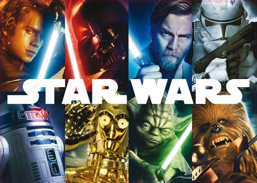 Puzzle Educa Star Wars, Los Personajes de 1500 Piezas