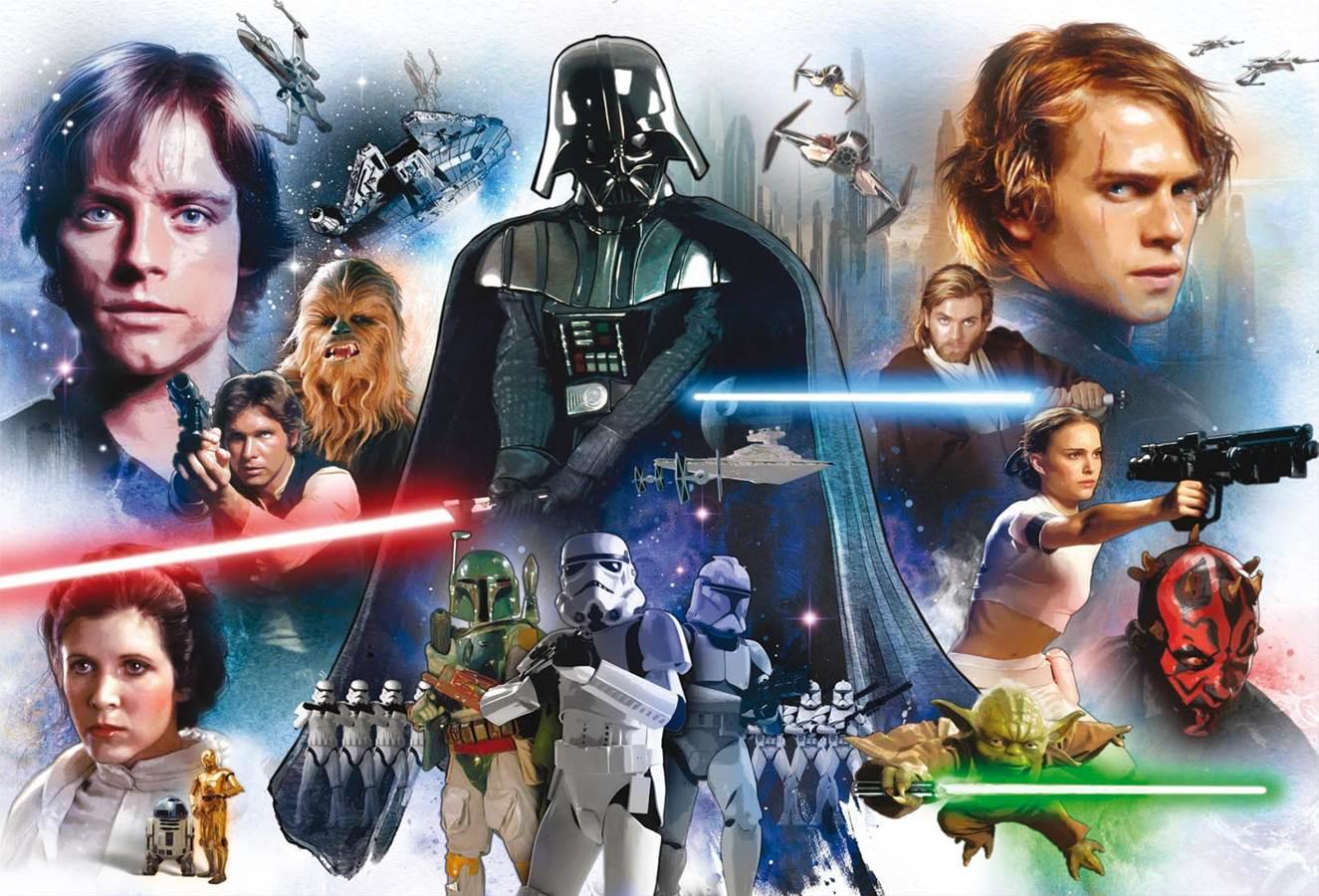 Puzzle Educa Star Wars, Mural de 3000 Piezas