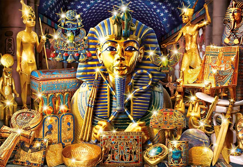 Puzzle Educa Tesoros de Egipto 1000 Piezas