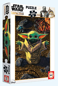 Puzzle Educa Star Wars The Mandalorian Grogu de 1000 Piezas