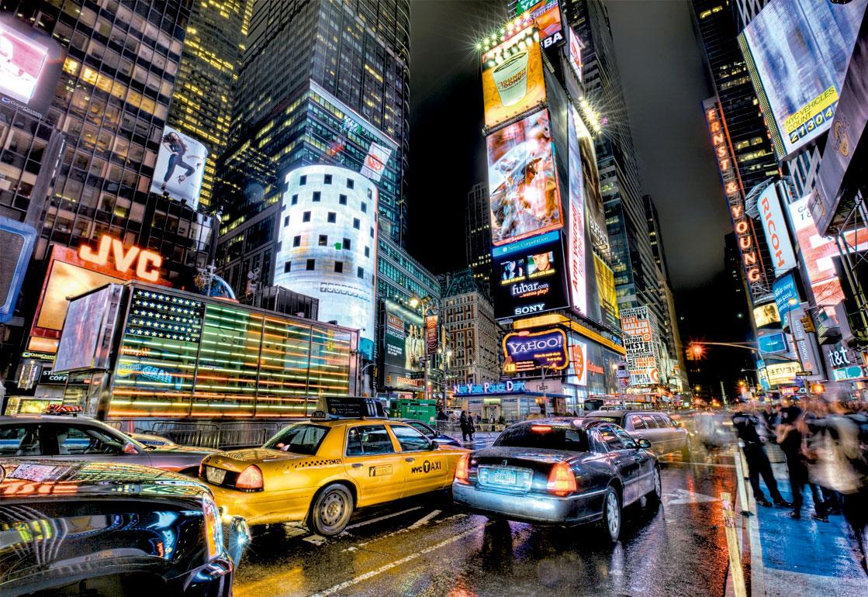 Puzzle Educa Times Square, Nueva York de 1000 Piezas