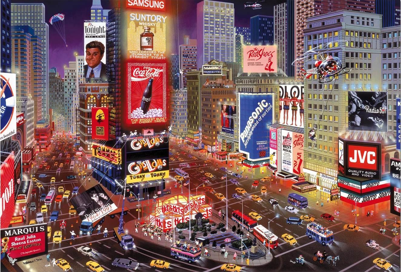 Puzzle Educa Times Square, Nueva York de 8000 Piezas