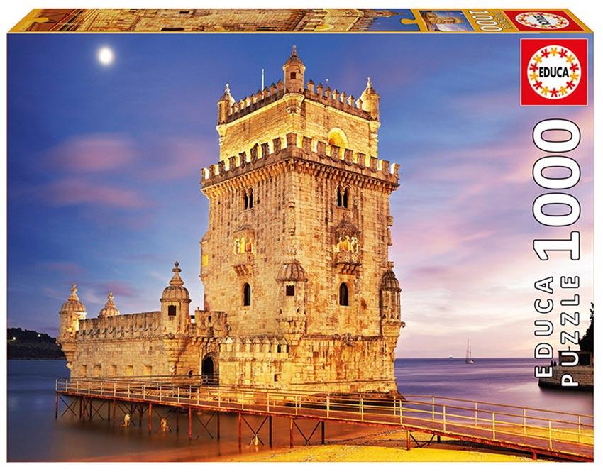 Puzzle Educa Torre de Belem, Lisboa de 1000 Piezas
