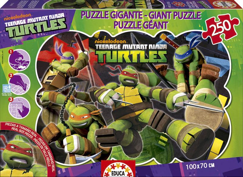 Puzzle Educa Tortugas Ninja de 250 Piezas