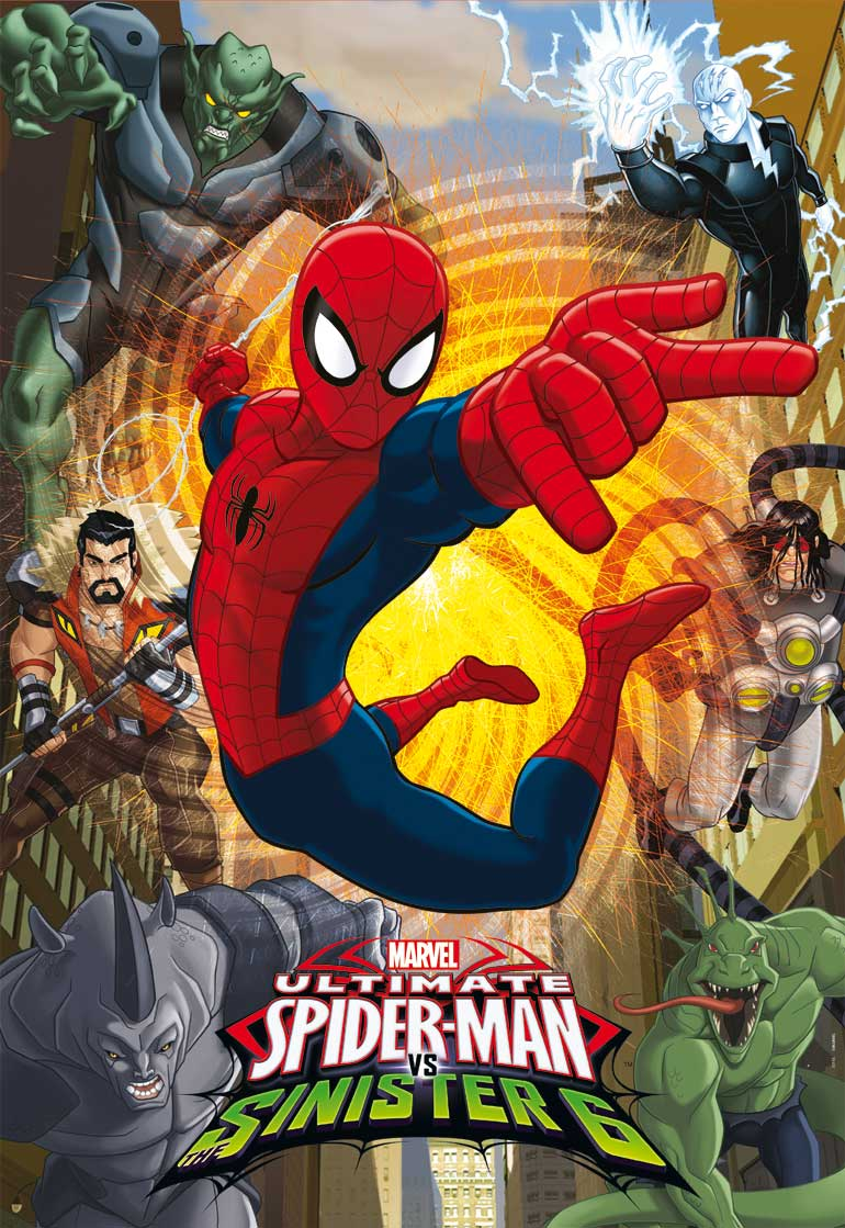 Puzzle Educa Ultimate Spider Man Sinister 6 de 500 Piezas