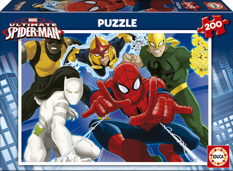 Puzzle Educa Ultimate Spiderman de 200 Piezas