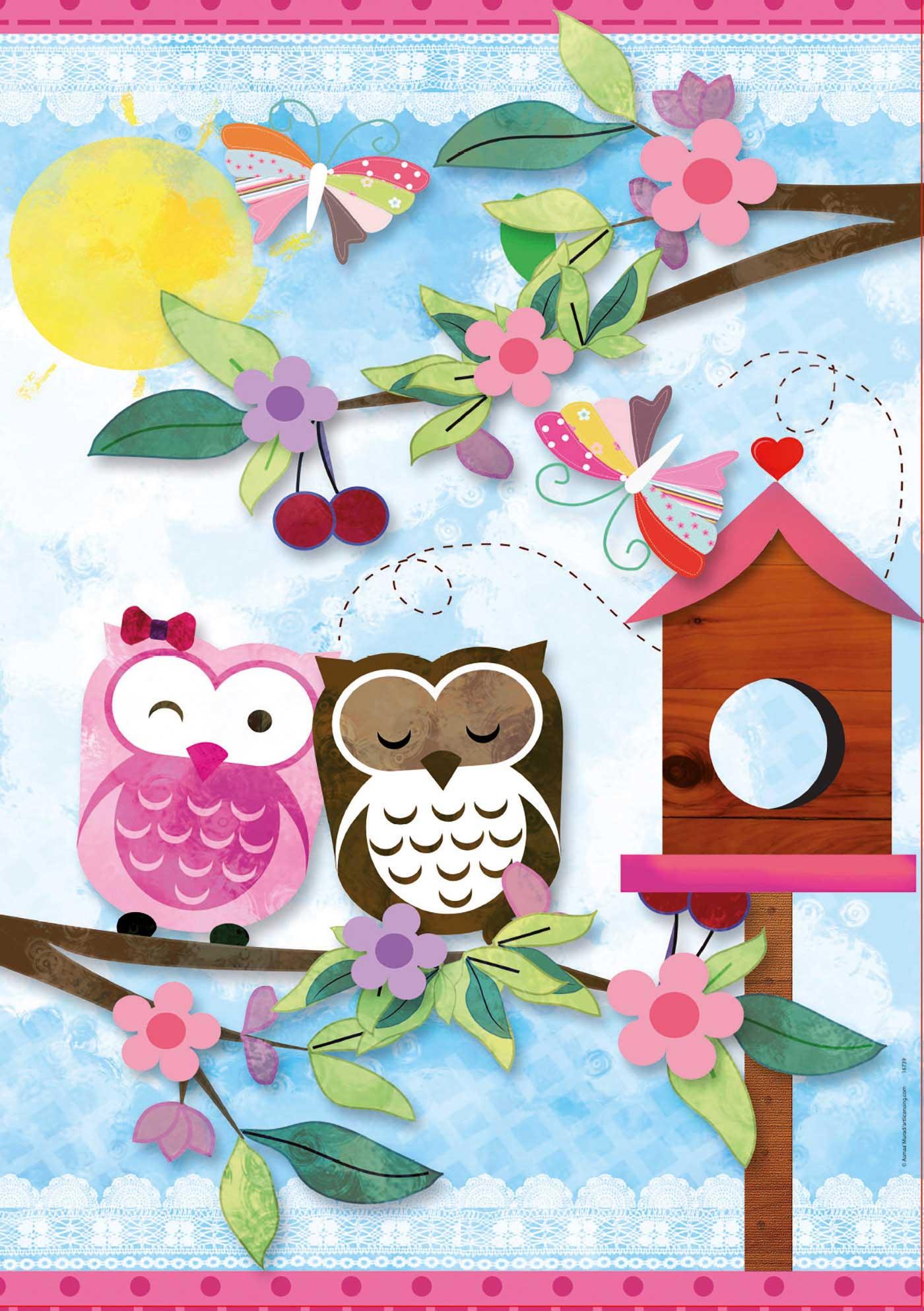 Puzzle Educa Buhos Valentine Art 500 Piezas
