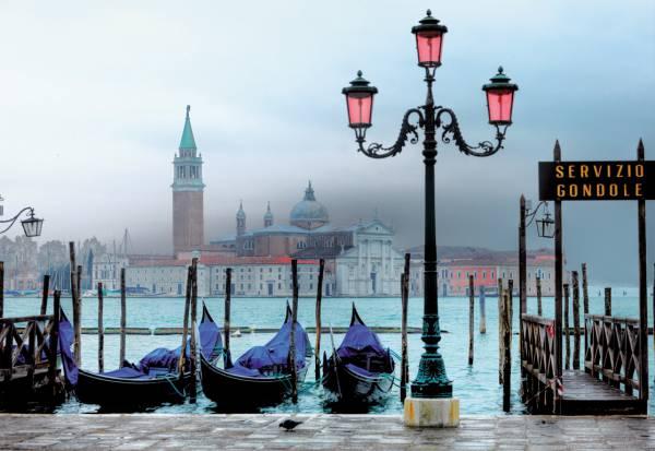 Puzzle Educa Venecia al Atardecer de 1500 Piezas