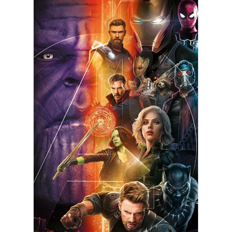 Puzzle Educa Vengadores, Infinity War de 500 Piezas