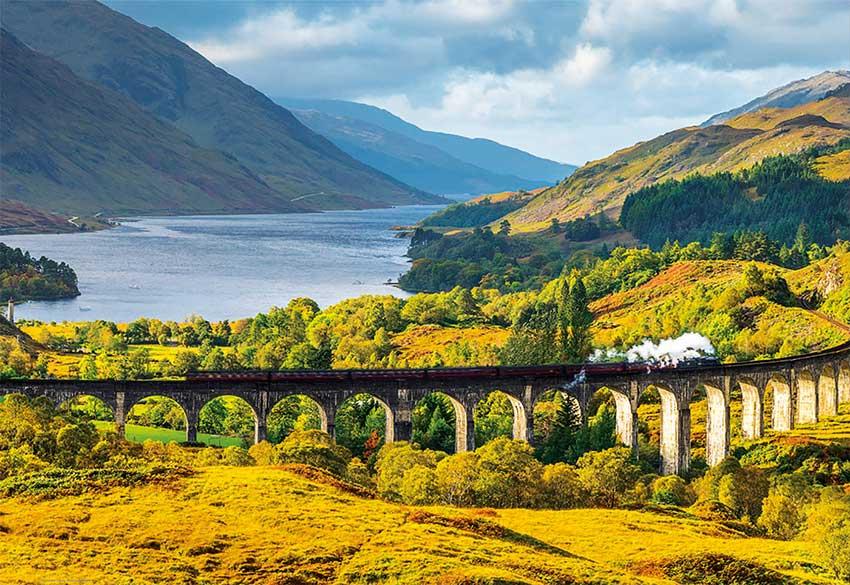 Puzzle Educa Viaducto de Glenfinnan, Escocia 1000 Piezas