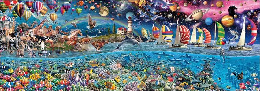 Puzzle Educa Vida, el Mayor Puzzle del Mundo de 24000 Piezas