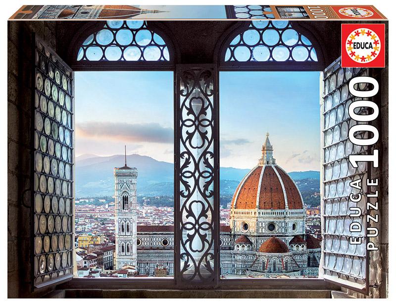 Puzzle Educa Vistas de Florencia de 1000 Piezas