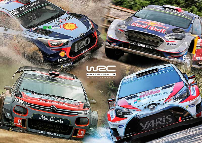 Puzzle Educa World Rally Car, WRC de 500 Piezas