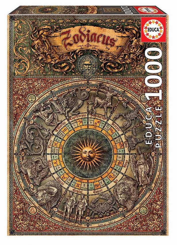 Puzzle Educa Zodiaco de 1000 Piezas