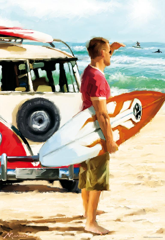 Puzzle Educa El Surfista de 500 Piezas