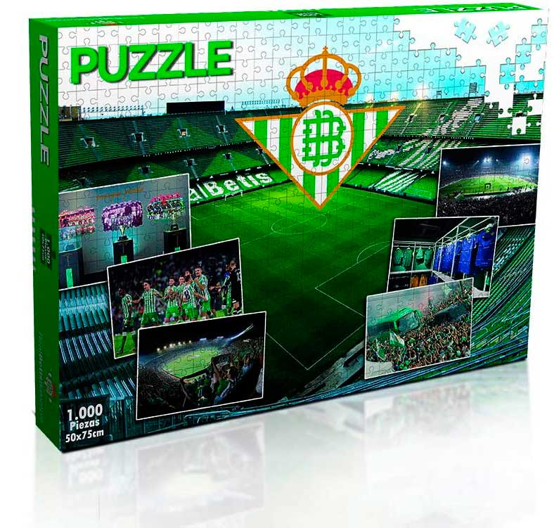 Puzzle ElevenForce Real Betis de 1000 Piezas