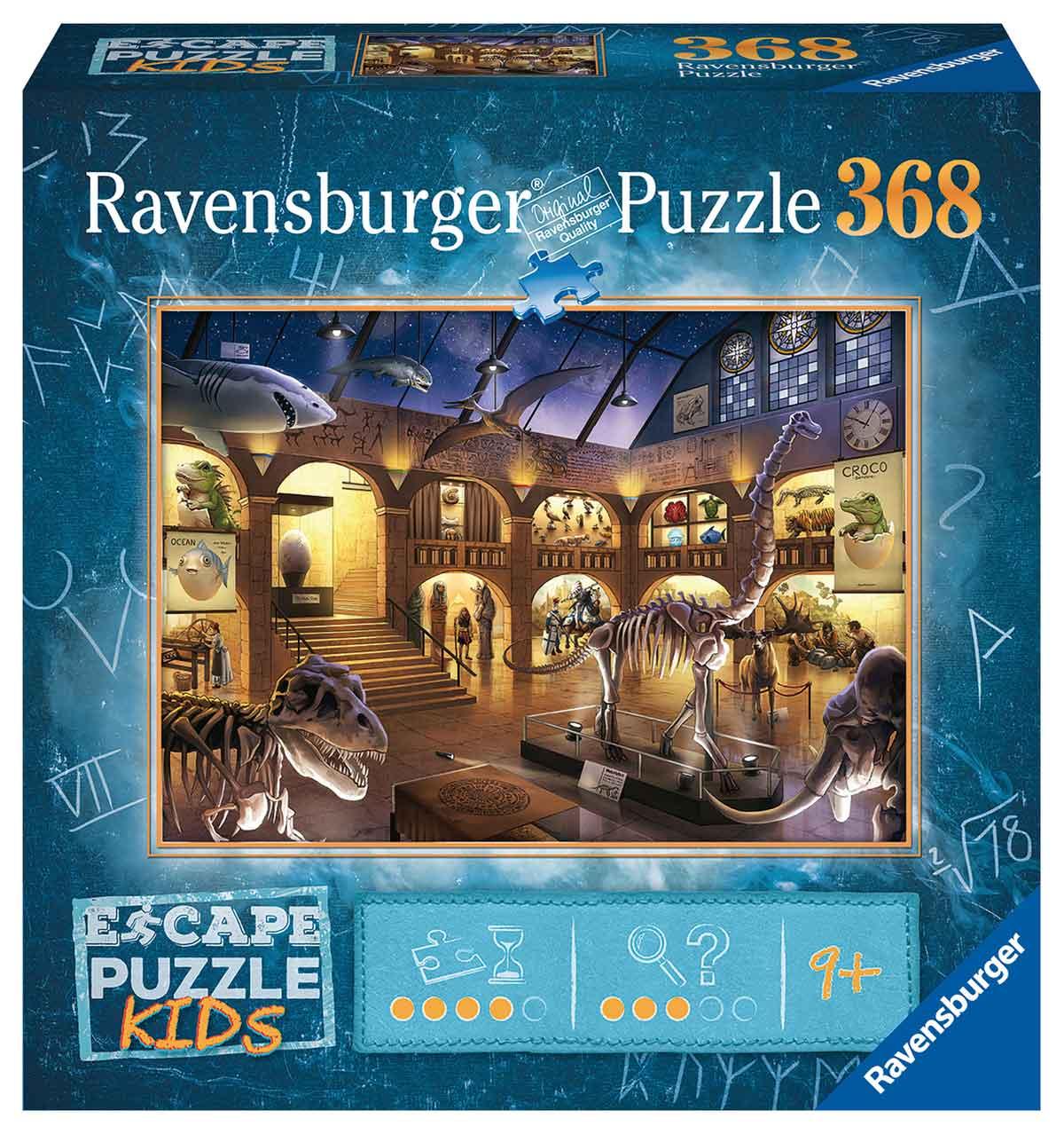 Puzzle Escape Kids Ravensburger Museo de 368 Piezas