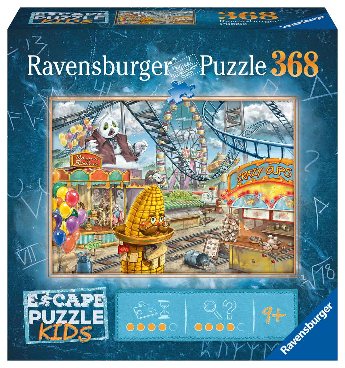 Puzzle Escape Kids Ravensburger Parque de Atracciones de 368 Pzs