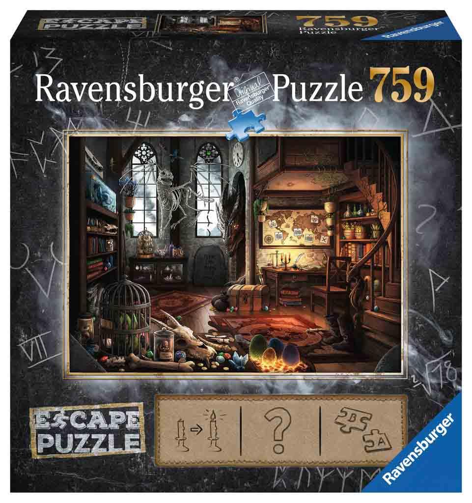 Puzzle Escape Ravensburger Dragón de 759 Piezas