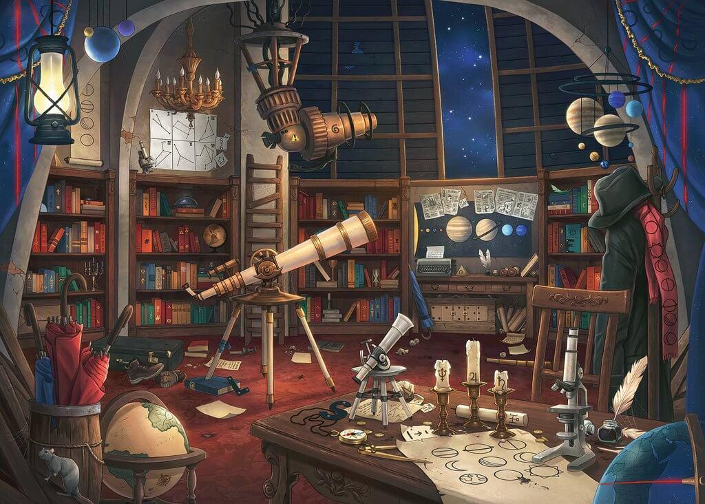 Puzzle Escape Ravensburger El Observatorio de 759 Piezas