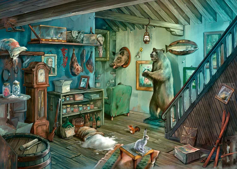 Puzzle Escape Ravensburger En la Cámara de los Horrores de 759 P