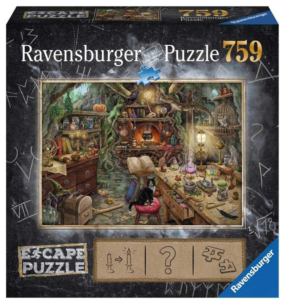 Puzzle Escape Ravensburger La Cocina de la Bruja de 759 Piezas